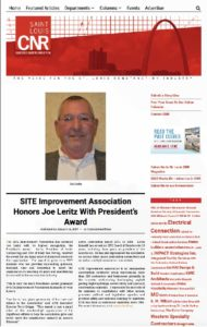 SITE Improvement Association's President's Award