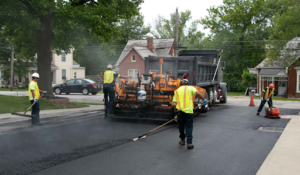 Municipal Asphalt Paving