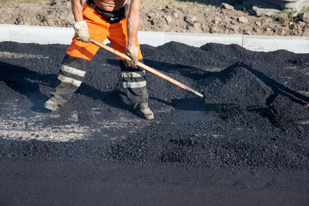 Asphalt Paving Worker